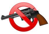 No revolver — Vector de stock