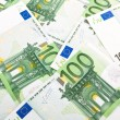 Euro banknotes background 3 — Stock fotografie