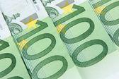 Fundo de 100 euro — Foto Stock