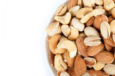 Bowl with nuts 2 — Stock Photo