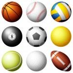 Sport balls — Stock Vector #36866079