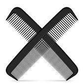 Comb icon — Stock Vector
