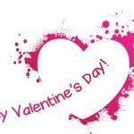Valentine grunge pink heart — Stock Vector #37996639