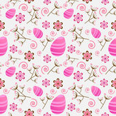 Seamless Easter pattern — Stock Vector