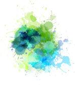 Tache multicolore — Vecteur