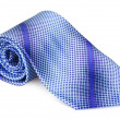 blue necktie — Stock Photo