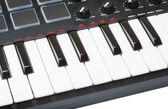 Digital Midi Keyboard — Stock Photo