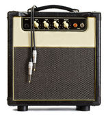 Vintage Guitar Amplifier — Stockfoto