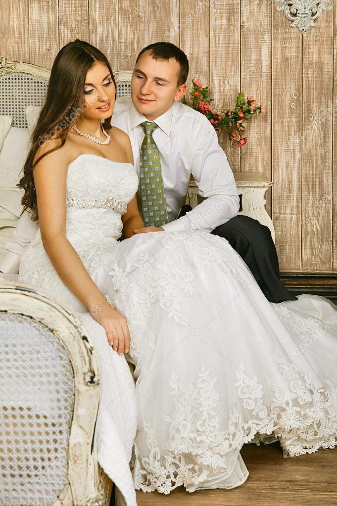 Фото невесты в спальне 3 фотография