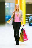 Ragazza dello shopping — Foto Stock