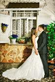Bruid en bruidegom — Stockfoto