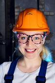 Beautiful Worker Woman — Stock Photo