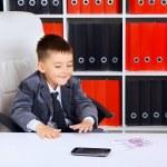 Little Businessman — Stock Photo #35043719