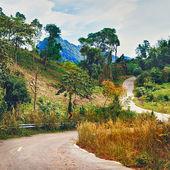 Highway in Thailand — Stock Photo
