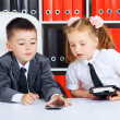 Little Businessmen — Stock Photo #35059725