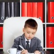 Foto de Stock  : Little Businessman