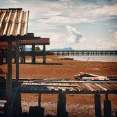 小さな桟橋 — ストック写真