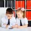 Little Businessmen — Stock Photo