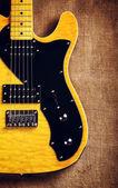 Semi-Hollow Guitar — Stock Photo