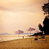 Playa sol koh lanta — Foto de Stock