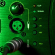 Amplifier Control Panel — Stock Photo