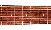 8-cuerdas guitarra fretboard — Foto de Stock