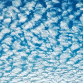 Cloudscape With Altocumulus Clouds — Stockfoto