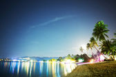 Koh Samui At Night — Stock Photo