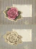 Vintage greeting cards — Stok fotoğraf