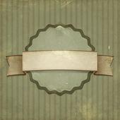 Sfondo vintage. etichetta sulla vecchia carta — Foto Stock