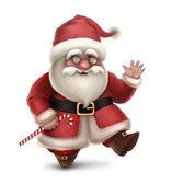 圣诞老人的插图 — 图库照片