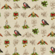 Royalty-Free Stock Photo: Vintage seamless christmas pattern