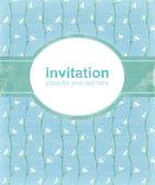 Elegant vintage invitation — Stock Photo