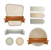 Coleção de distintivos de estilo retrô vector — Vetorial Stock