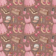 Royalty-Free Stock Photo: Seamless fashion pattern