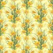 Vintage seamless pattern with lily flowers — Stock Photo #28450081