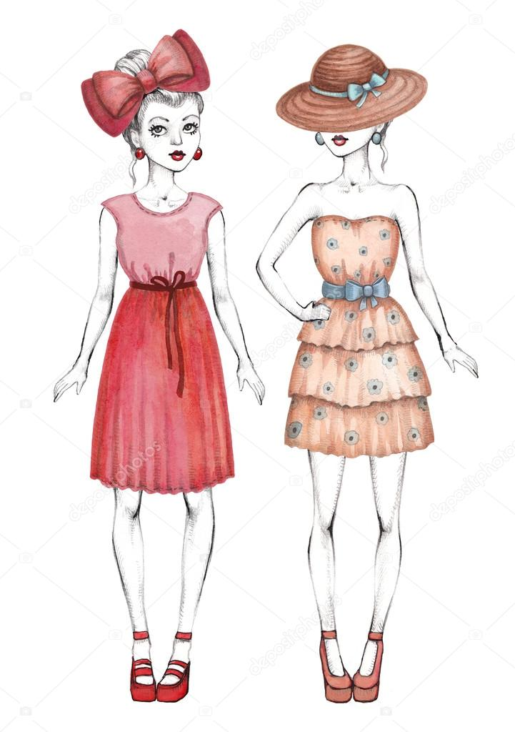 модные рисунки: