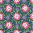 Vinage floral seamless pattern — Stock Photo