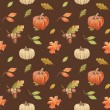 Autumn artistic seamless pattern — Stock Photo
