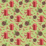 Watercolor christmas pattern — Stock Photo #34780499