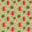 Watercolor christmas pattern — Stock Photo #34780499