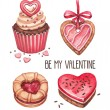 Valentine's Day illustrations collection — Stock Photo #37132953
