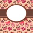 Stock Photo: Background for valentines day