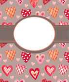 Background for valentines day — Stock Photo