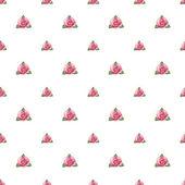Seamless pattern with strawberry bush — Stockfoto