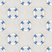 Seamless nautical pattern — Fotografia Stock