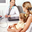 Royalty-Free Stock Photo: Doctor exam child.