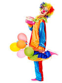 Portret clown. — Zdjęcie stockowe