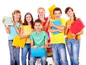 Gruppo di teen — Foto Stock