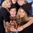Group young at nightclub. — Stock Photo #12810215